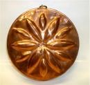 "11"" - 28cm Copper Round Rossette Mold  - TODAY'S HOT DEAL"