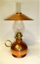 "16"" Tall Hammered Oil Lamp"