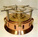 Copper Rechaud Heater with Burner - EXTRA PROMO