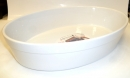 "Staub 13.5"" - 34cm Stoneware Oval Dish White - HOT DEAL"