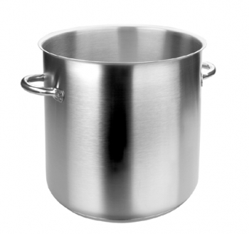 26 Qt - 24 Lts Lacor Eco-Chef Stainless Steel Stock Pot