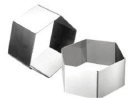 "Hexagonal 2"" High Cooking Rings"