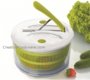 "9.5"" Salad Spinner Via Pedal Function"