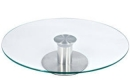 Revolving Glass Cake Stand