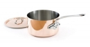 Mauviel M'150s Sauce Pans/Lids with Stainless Steel Handles