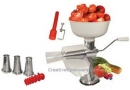 Manual Food Strainer with 4 Screens