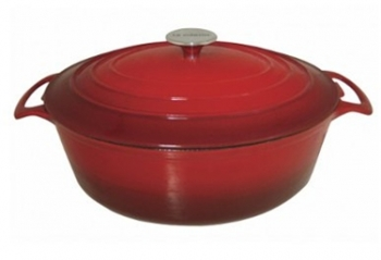 9 Qt - 8 Lts Le Cuistot Red Oval