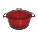 Le Cuistot 5 Qt - 4.3Lts Vieille France Cast Iron Round Dutch Ovens