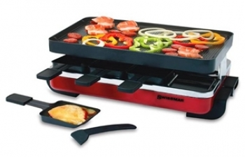 Swissmar 8 Person Red Raclette Set