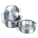 Three Layer Casserole Steamer Perla Set