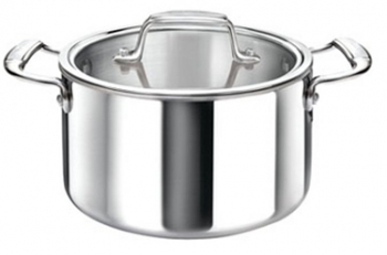 16 Qt - 14 Lts Cool Kitchen Integral 3-Ply Stock Pot