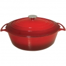 Le Cuistot 7.2 Qt - 6.5 Lts Vieille France Cast Iron Oval Dutch Ovens