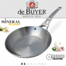 De Buyer Mineral B Steel French Collection Fry Pans