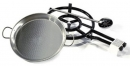 "Bundle 16.5""- 42cm (Burner + 16.5"" Pan + Spatula) Gas Burner Paella Pan Set - EXTRA PROMO"