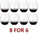 Riedel O Range Stemless Cabernet/Merlot Glass - Set of 8