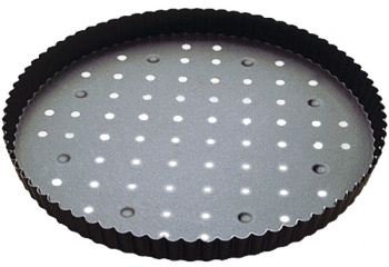 Gobel Perforated Fixed Bottom Tart / Quiche Pan