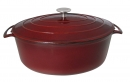 Le Cuistot 9 Qt - 8 Lts Vieille France Cast Iron Oval Dutch Ovens
