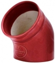 "Emile Henry 3.9"" - 10cm Salt Pig Grand Cru Red"