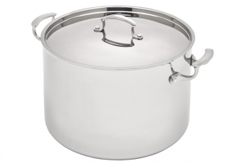 Vitantonio 7.5 Qt - 7 Lts Tri-Ply Stainless Stock Pot