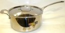 "Lacor 11"" - 9 Qt Large Stainless Steel Sauce Pan with Lid HOT DEAL"