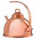 Mauviel 3.2 Qt - 3 Lts Copper Tea Kettle