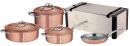 Ruffoni SYMPHONIA CUPRA 7 Pcs Copper Cookware Set