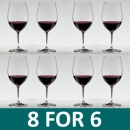 Riedel Ouverture Magnum Red Wine Glass - Set of 8 VALUE PACK