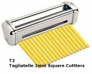 Imperia T2 Tagliatelle 2mm Cutters For R220 & RM220
