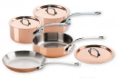 Mauviel M'150s Copper Cookware 7 Pcs Set