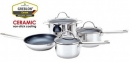 Cool Kitchen PRO CERAMIC Cookware 7 pc Set - EXTRA PROMO