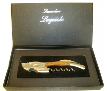Laguiole Wood Corkscrew with Gift Box HOT DEAL