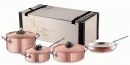 Ruffoni OPUS CUPRA 7 Pcs Copper Clad Cookware Set