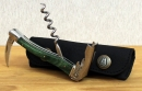 Chateau Laguiole Corkscrew Green Stamina Wood - EXTRA PRMO