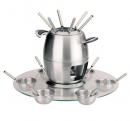 Lacor 6 Person Stainless Lazy Susan / Fondue Set  - TODAY'S HOT DEAL