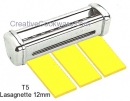 Imperia T5 Lasagnette 12mm Cutters For R220 & RM220