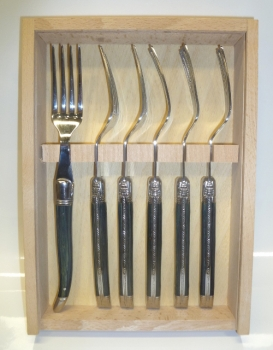 Authentic Laguiole Blue Forks Set of 6 - HOT DEAL