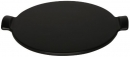 "Emile Henry 14.5"" - 37cm Pizza Stone Fusian Charcoal"