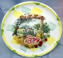 "Italian Ceramic 11.5"" - 29cm Pizza Plate - TODAY'S HOT DEAL"