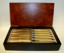 Authentic Laguiole Blonde Knives Set of 6