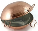 "12"" - 30cm Flat Bottom Copper Cataplana"