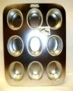 Regular 12 Oval Muffin Pan Tin Pan