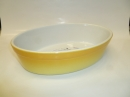 "Staub 10"" - 25cm Stoneware Oval Dish Yellow - HOT DEAL"