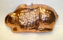 "10"" Hammered Copper Rabbit Mold - TODAY'S HOT DEAL"
