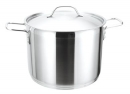 Strauss Pro Inox Stock Pots with Lid