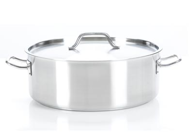 26 Qt 24 Lts Strauss Pro Low Casserole Creative Cookware