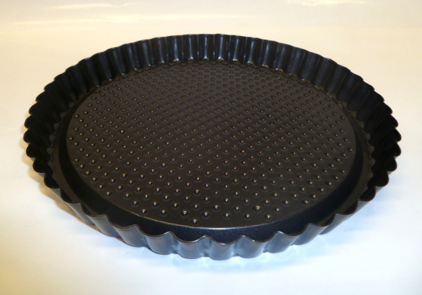 11 Quot 28cm Round Non Stick Fluted Fruit Tart Pan