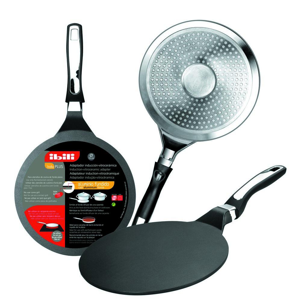 """Table Induction Ou Vitrocéramique induction 9.5"""" - 24cm heat distributing non-stick plate"""