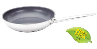 Strauss Pro Stainless Steel Non Stick Skillet 8 Quot 20cm